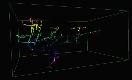 Rilievo Tridimensionale del Sistema dei Piani Eterni  Francesco Sauro