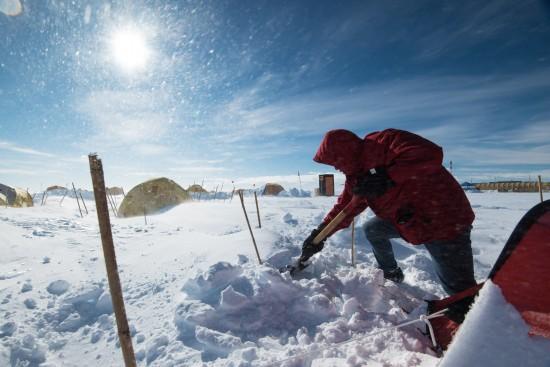campo degli Scienziati in Antartide
