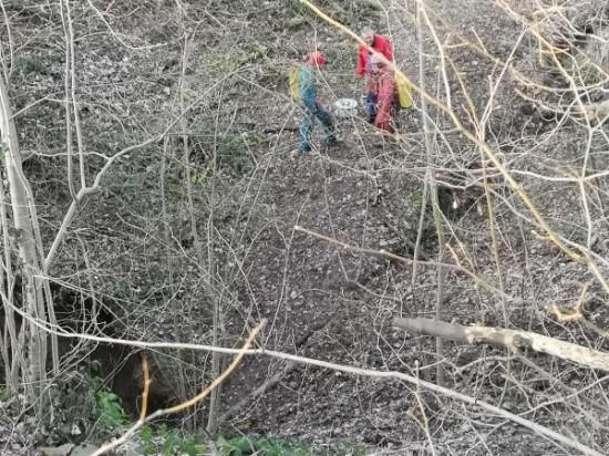 Ingresso grotta trou-bernard