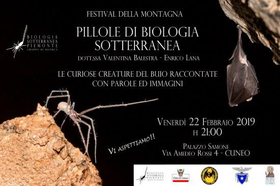 pillole di biologia sotterranea a Cuneo