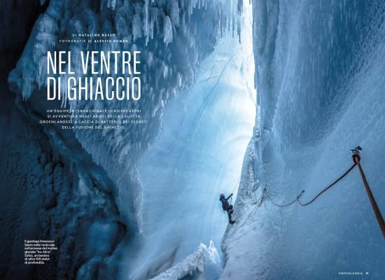 inside the glaciers - national geographic la Venta