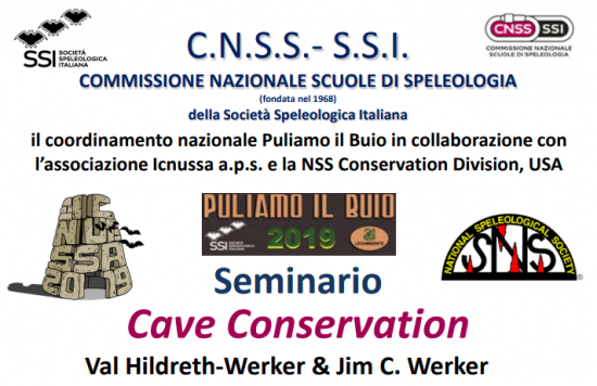 SSI, NSN, Cave Conservation