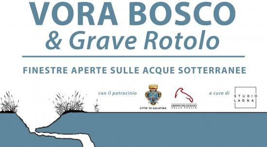 Vora Bosco Grave Rotolo Finestre aperte sulle Acque sotterranee