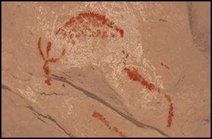 Scoperta arte rupestre Balcani stambecco