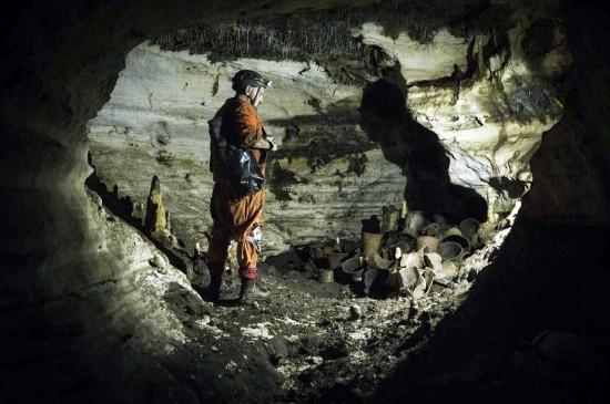 Scoperta grotta Maya