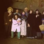 gli attori in costume