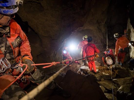 Grotta Doviza - Foto di repetorio di Paolo Manca
