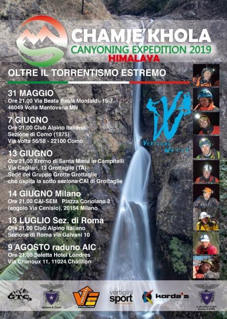 Canjoning chamje-khola-2019