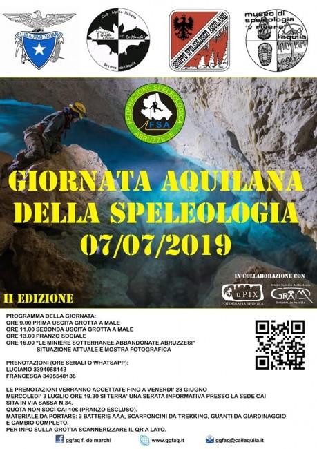 Giornata speleologia L'Aquila