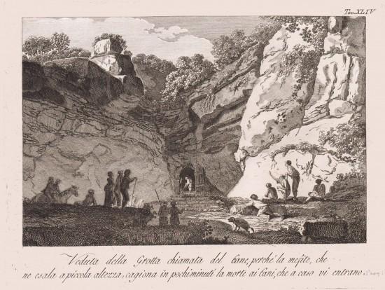 La grotta del cane studiata dalla NASA
