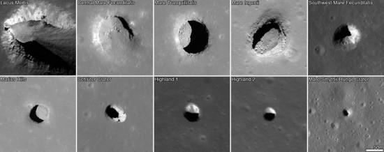 Ingressi grotte lunari