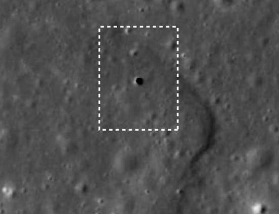 ingresso-di-un-tubo-di-lava sulla luna