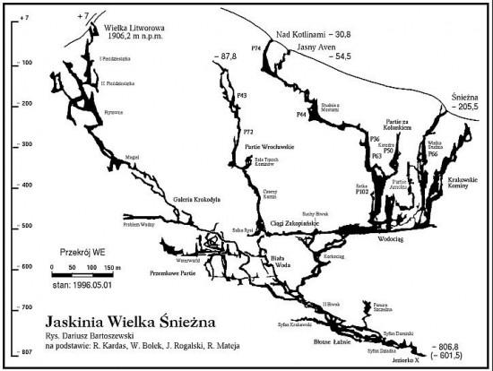 Polonia speleologi bloccati nella wielka-sniezna