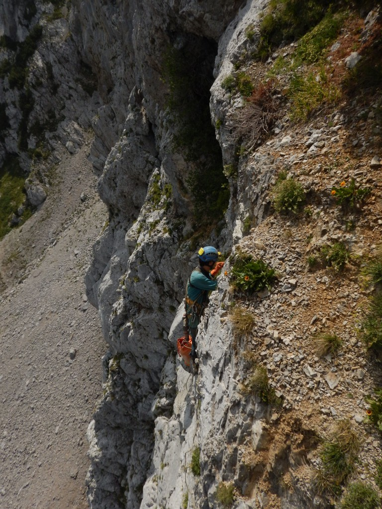 speleologi in Grigna