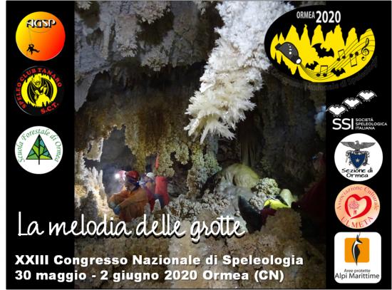 Congresso nazionale di speleologia Ormea 2020