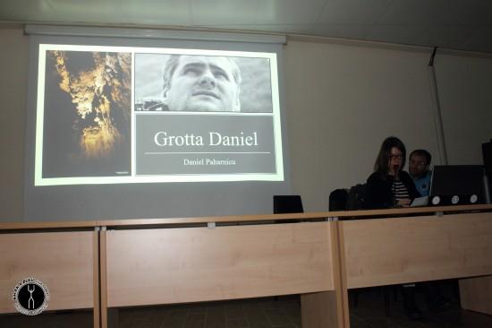 Presentazione delle esplorazioni dello Shaka Zulu a Grotta Daniel