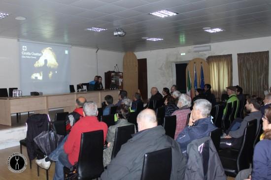 Presentazione dei lavori svolti a Grotta Guattari
