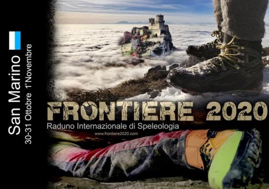 Raduno speleologia san marino 2020 Frontiere
