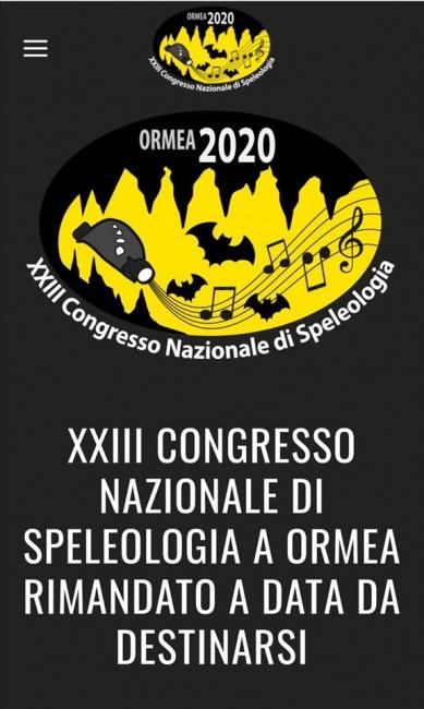 Congresso nazionale di speleologia