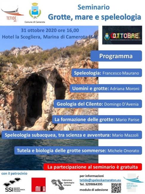 Grotte, mare e speleologia