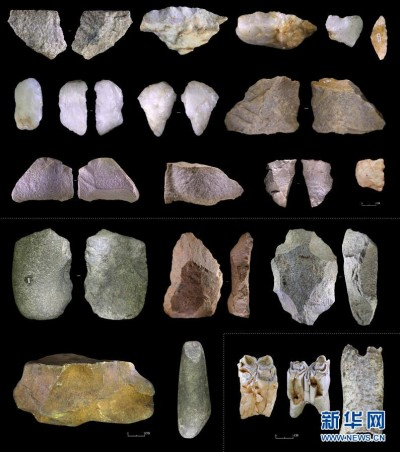 Cina, grotte, paleolitico