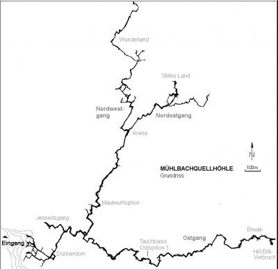 muhlbachquellhohle-pianta-della-grotta