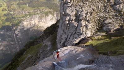 Discesa del Canyoni Matterbach in Svizzera