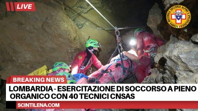 Esercitazione grotta a pieno organico