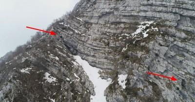Parete-Nord-Monte-Pizzocolo-avvistamento-ingressi-con-drone-Foto-Max-Pozzo