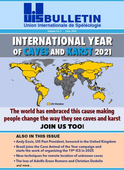 UIS Union International de Speleologie