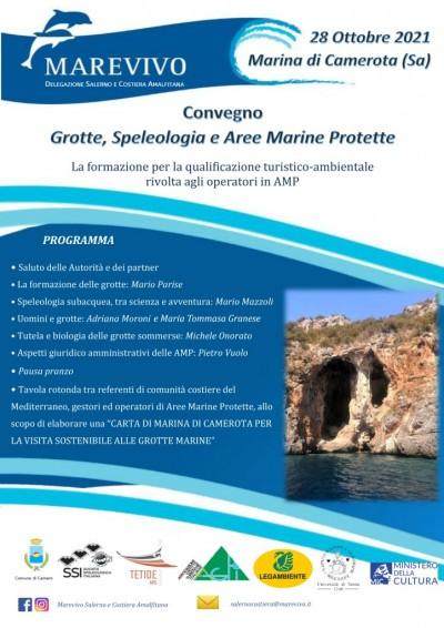 Grotte, aree protette, convegno