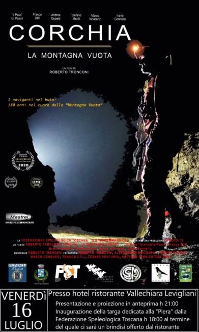 Corchia la Montagna Vuota, film