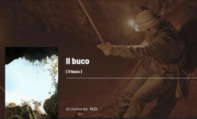 Il buco film Abisso del Bifurto sul Pollino