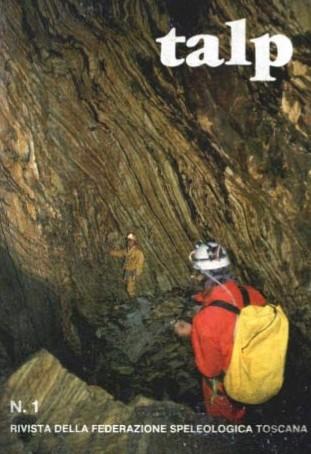 Talp rivista di Speleologia della Federazione Speleologica Toscana