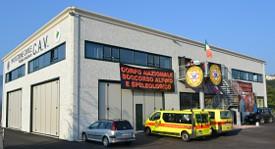 La sede nazionale del Soccorso Speleologico del CNSAS