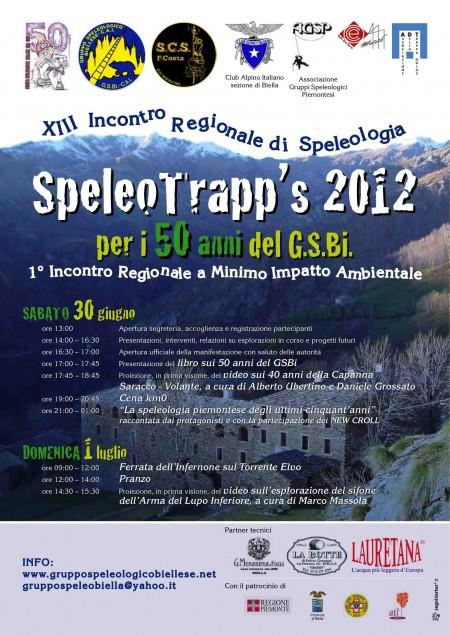 Speleo Trapp's 2012 locandina