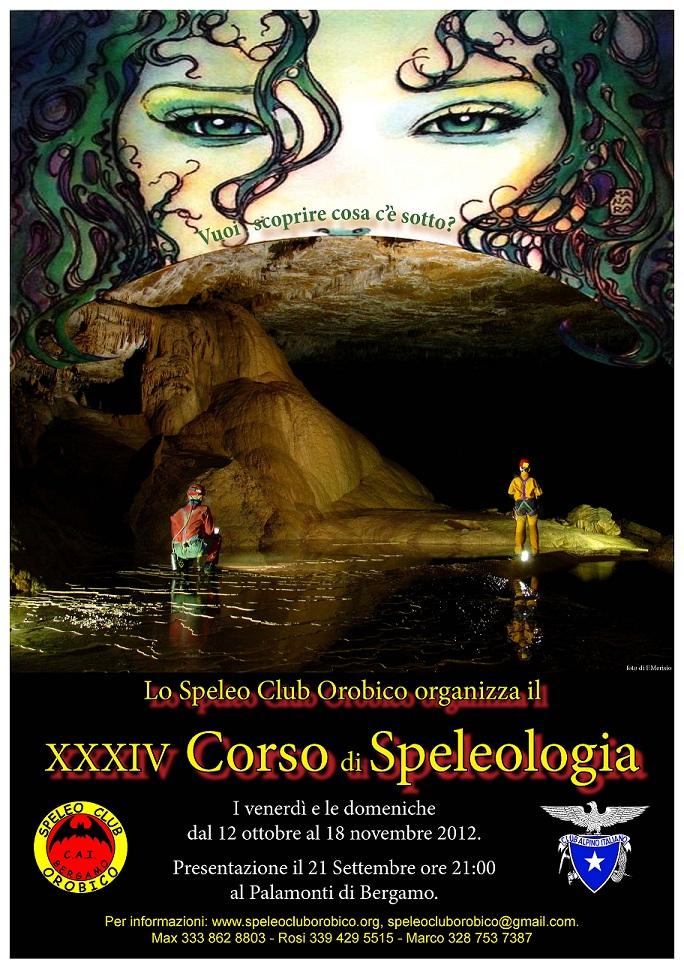 XXXIV Corso di Speleologia
