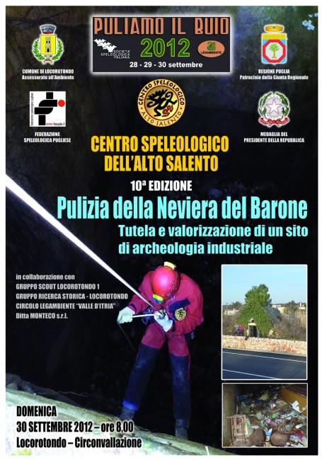 puliamo il buio 2012 salento locandina